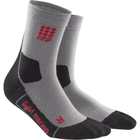 cep Dynamic+ Outdoor Light Merino Mid-Cut Socks Men, volcanic dust